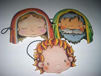 Máscaras da família de Jesus