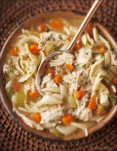 Picture Perfect Meals {this is my go-to chicken noodle soup recipe ...