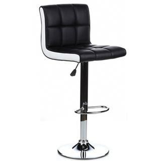 Taburete de asiento acolchado negro lounge taburetes de bar - Asientos para taburetes ...