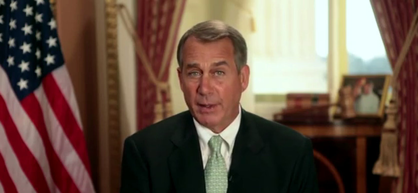 John Boehner Weekly Republican Address