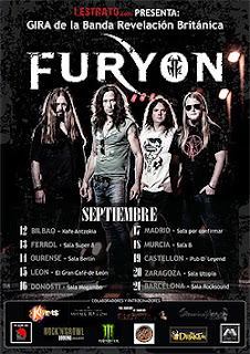 Conciertos de Furyon por España