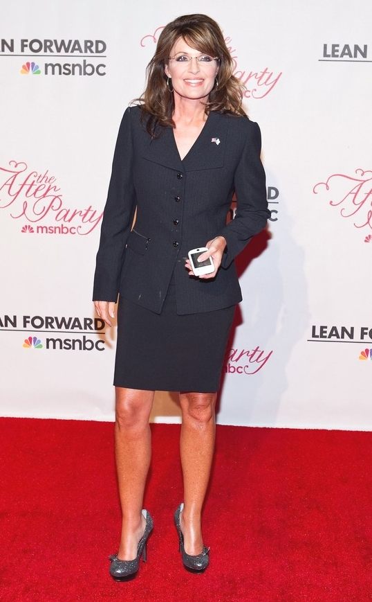 Sarah Palin's Fashion Tips For Feet And Other Inappropriate Stuff