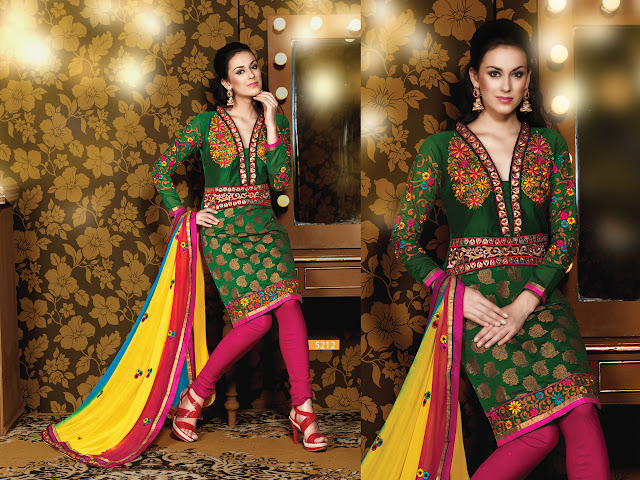 Designer Salwar Kameez Suits, Party Wear Churidar Salwar Kameez in Goa