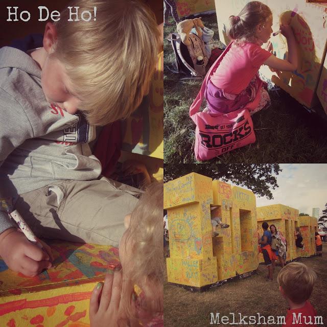 Ho de ho! Camp Bestival 2013