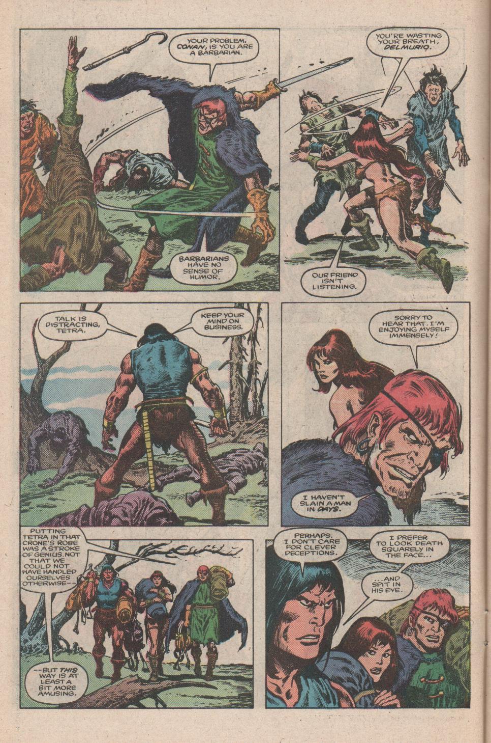 Conan the Barbarian (1970) Issue #175 #187 - English 5