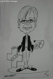 Mi caricatura. Salud y Vida