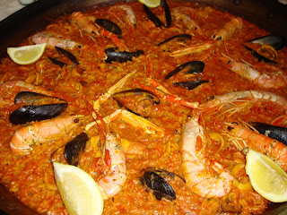 Paella Valenciana photo -  Spain