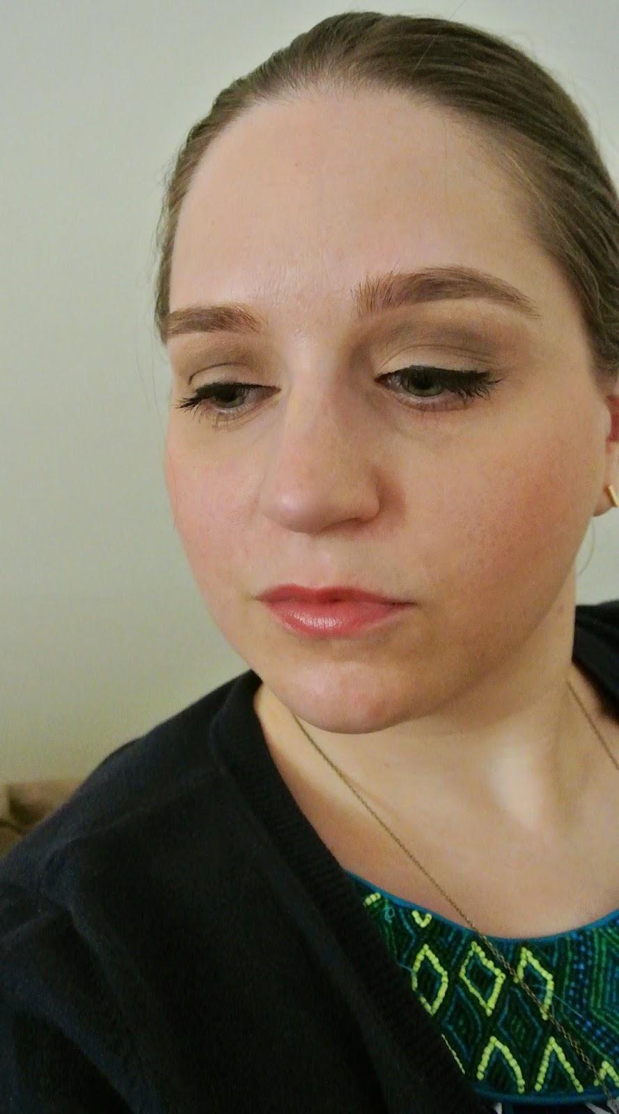 Lipstick & Black Eyeliner