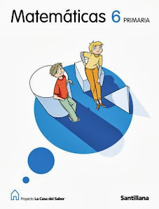 Libro digital de Matemáticas 6º