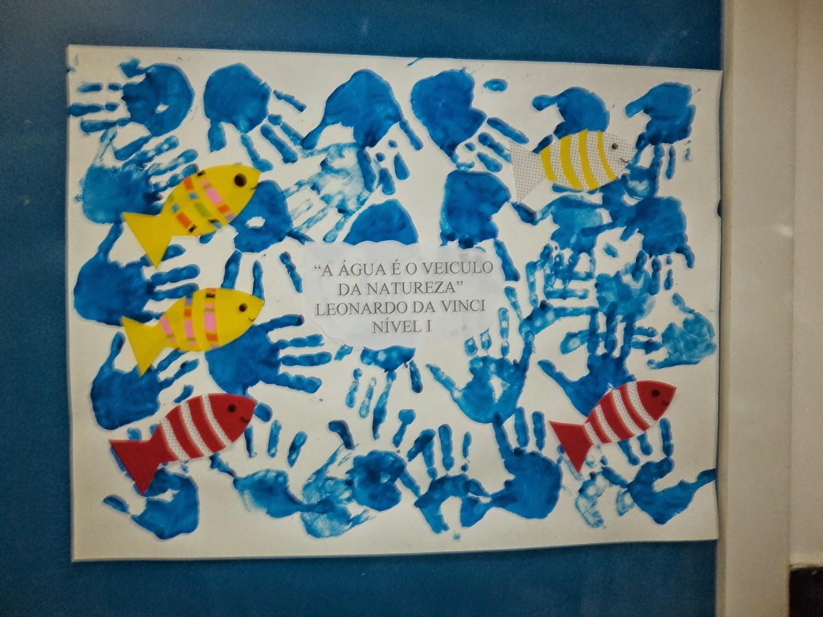 Col gio mega blog da educa o infantil dia for Mural sobre o meio ambiente