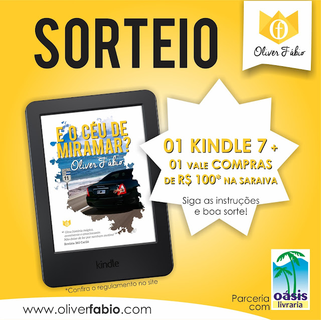 sorteio, kindle