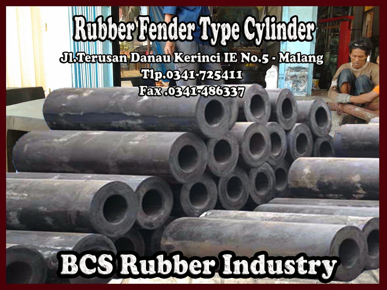 Gallery Product Rubber Fender Cylinder - BCS Rubber Industry
