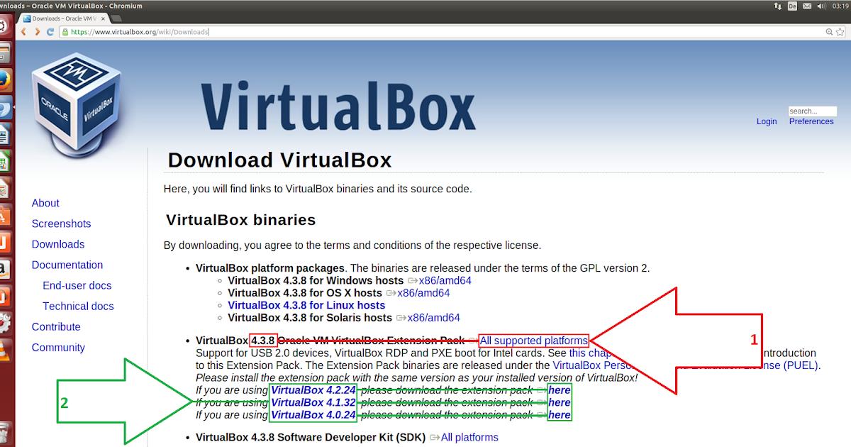 Use Linux...: VirtualBox Extension Pack installieren ...