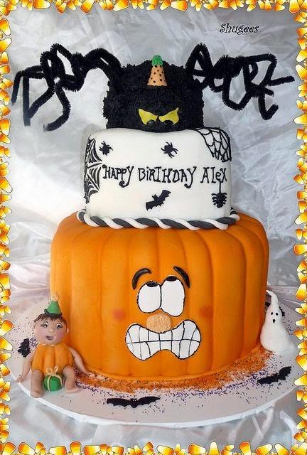 bolos de aniversrio com tema halloween dia das bruxas - Halloween Dia