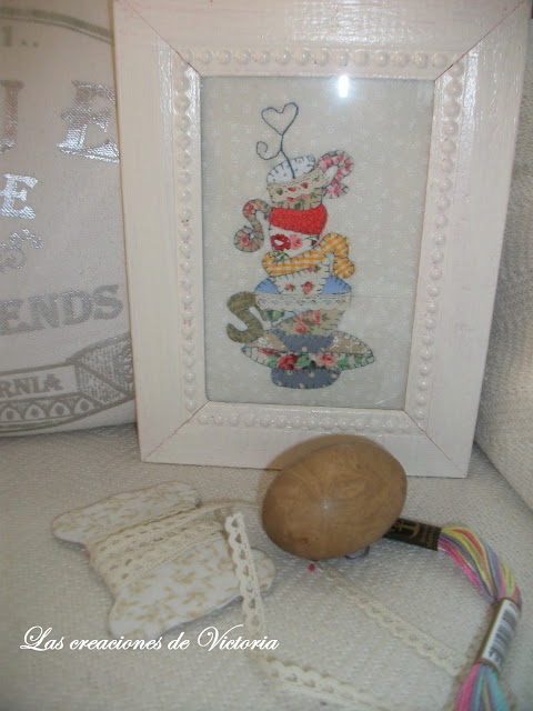 Las creaciones de Victoria. Patchwork.Mini quilt sweet mistery