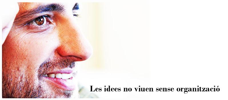 les idees no viuen sense organització