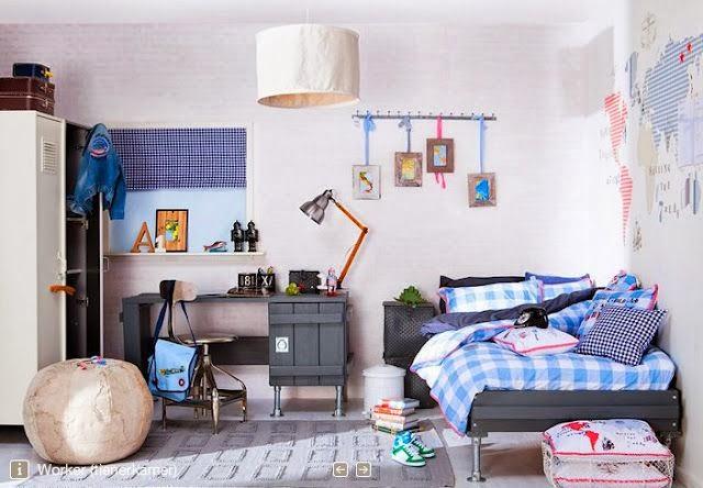 Franciskas vakre verden inspirasjon til barnerommet gutt - Decoratie slaapkamer jongen jaar ...