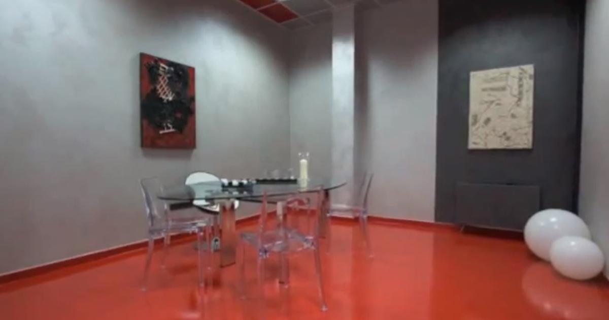 Errelab crea in resina quanto costa un pavimento o una - Quanto costa una porta a soffietto ...