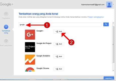 Tambahkan orang yang Anda kenal di Google+