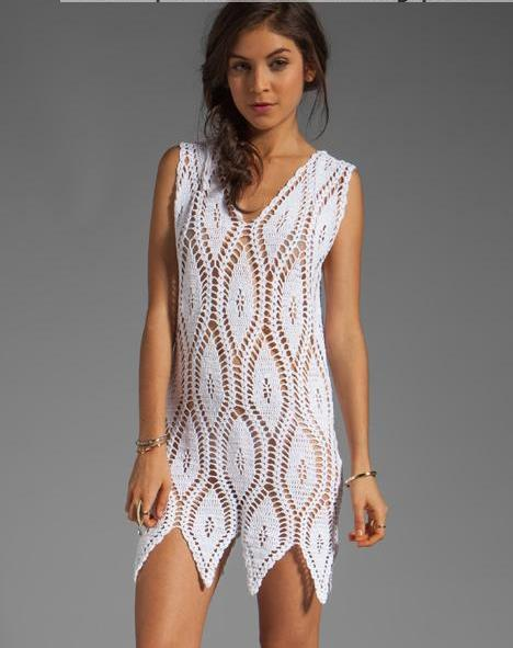 Vestido ganchillo patrones - Imagui