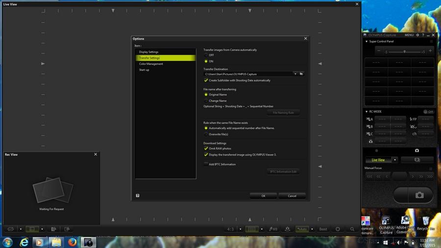 Olympus pro studio capture software