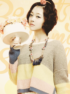 f(x) 2013 sulli  Sulli f(x) Short Hair Cute