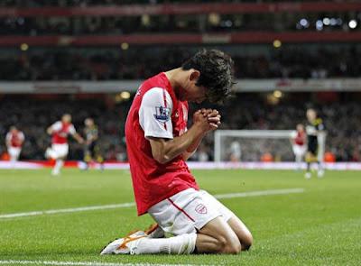 Arsenal 2 - 1 Bolton Wanderers (2)