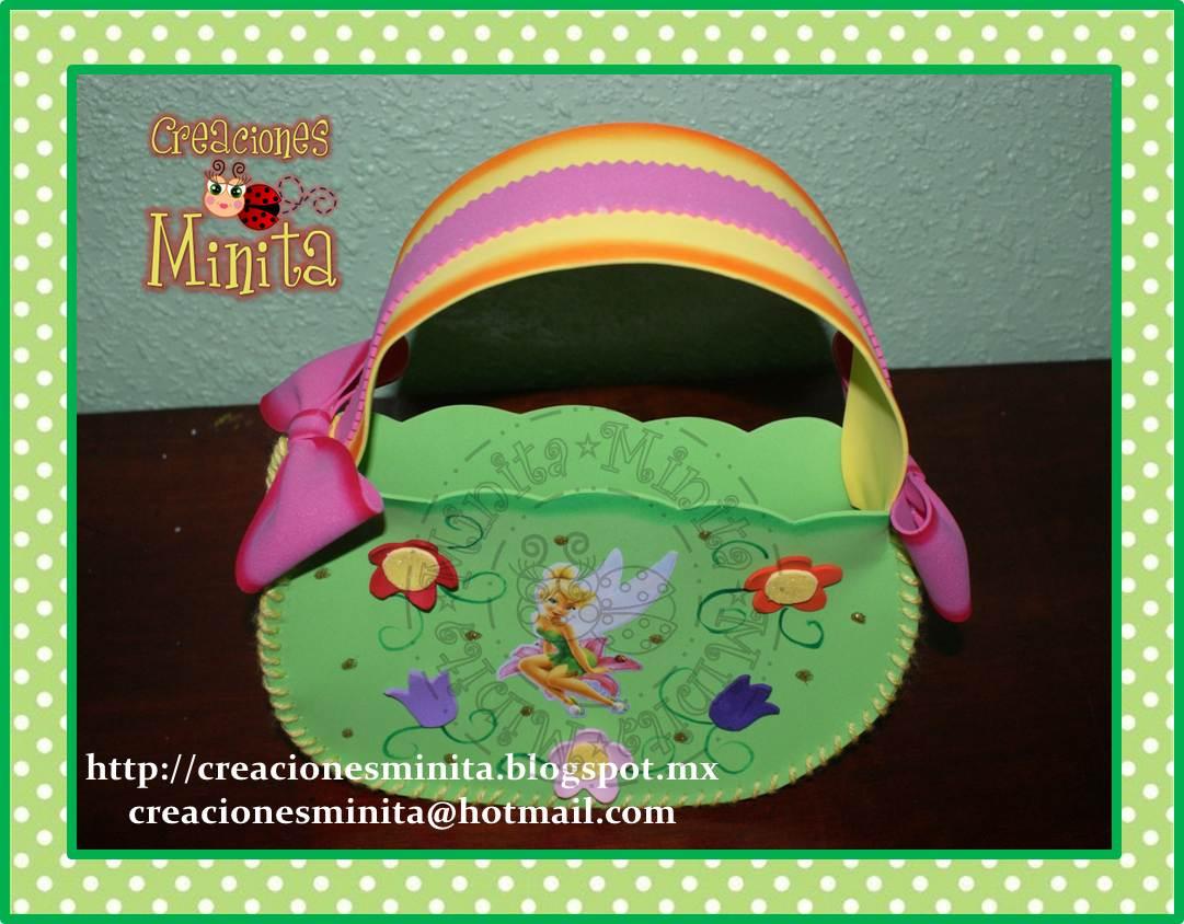 Bolsa De Ombro Tinker Bell : Creaciones minita bolsa dulcero de tinkerbell