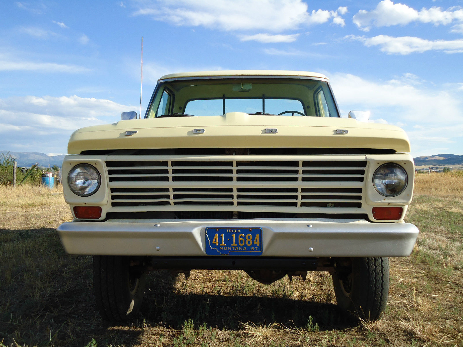All American Classic Cars 1967 Ford F 250 4 WD Pickup Truck