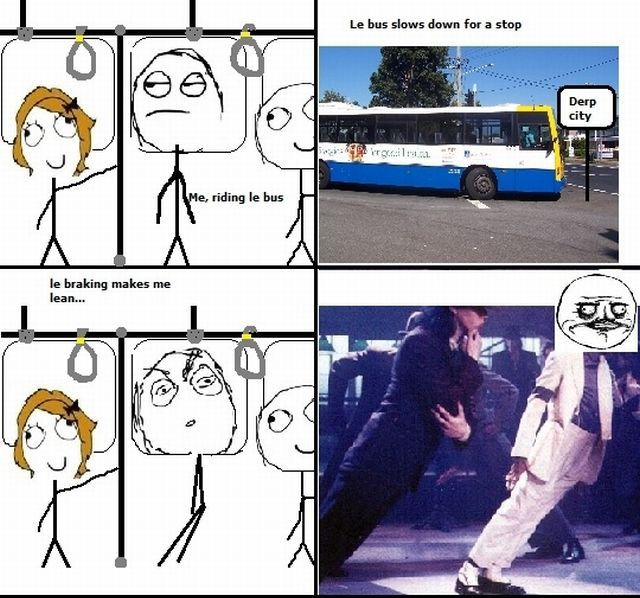 More funny | Meme | Rage Comics: Le braking makes me lean
