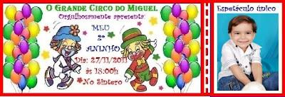 Miguel 2º aninho