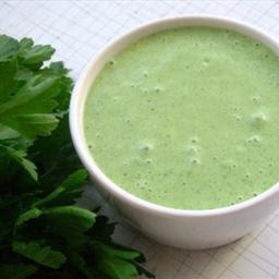 Casa Ole green dip, avocado dip, cilantro dip, green sauce,