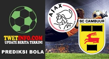 Prediksi Ajax vs Cambuur