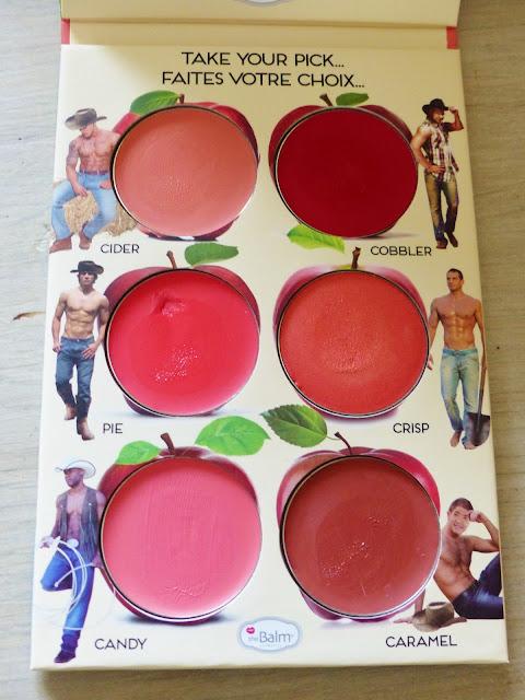 Palette maquillage de blushs crèmes The Balm