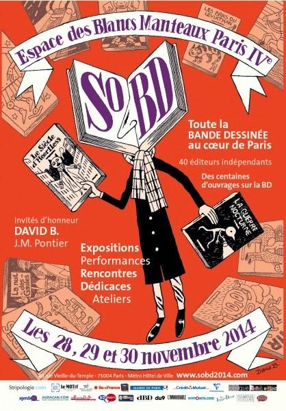Salon SoBD - 28, 29, 30 novembre 2014 (+ d'infos)
