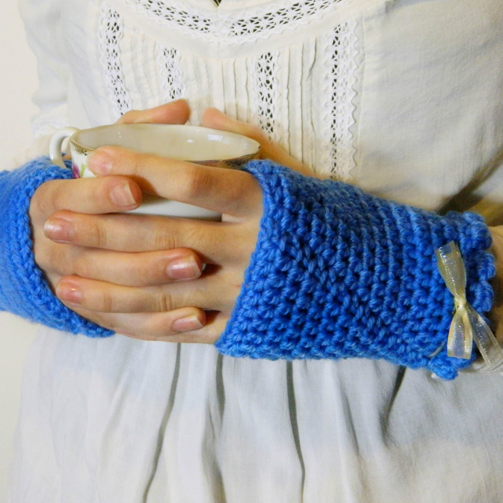Crochet Fingerless Gloves Tutorials : Hopeful Honey Craft, Crochet, Create: Confessions of a ...