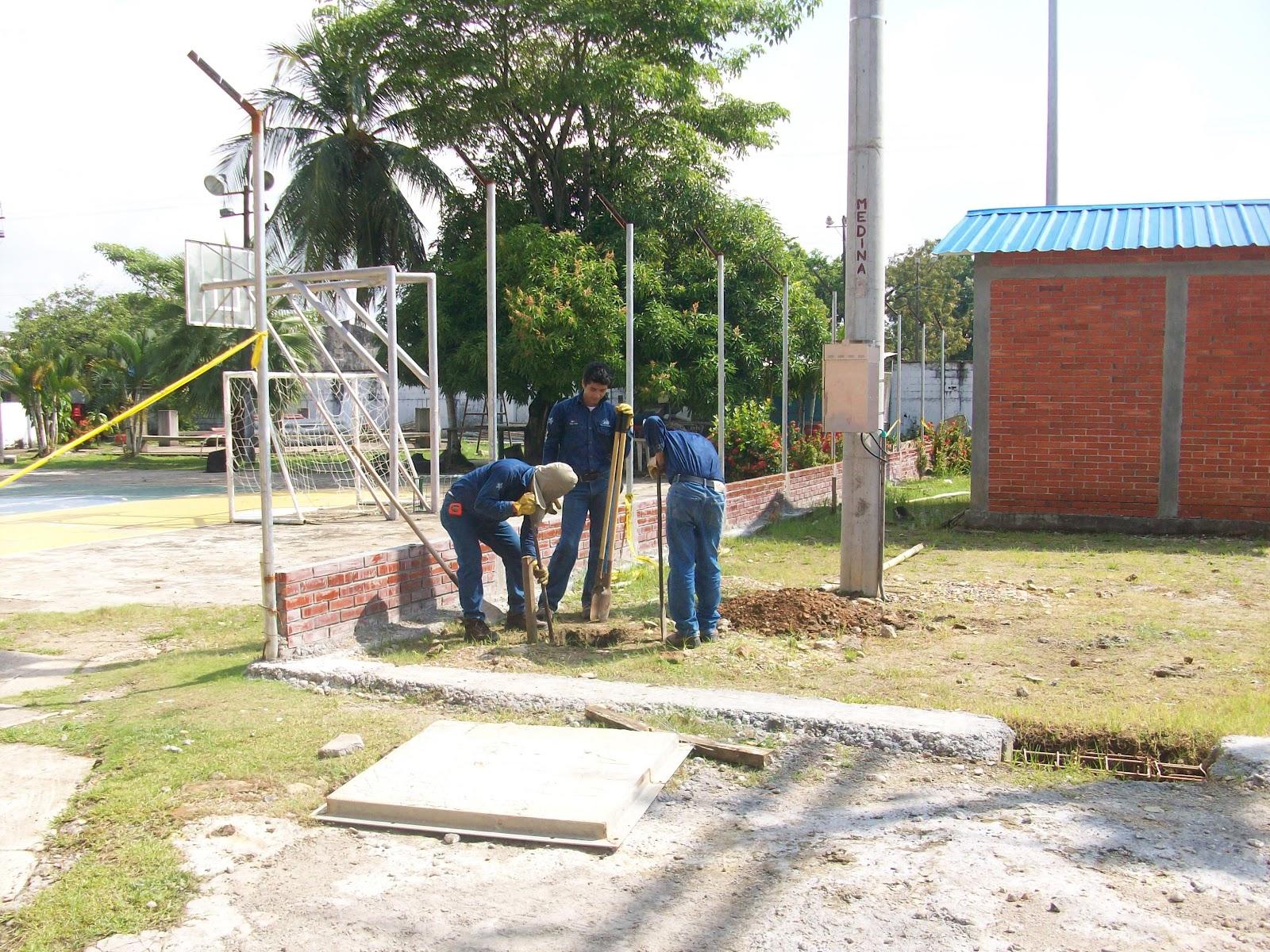 Mei construcci n malla de puesta a tierra for Malla de construccion