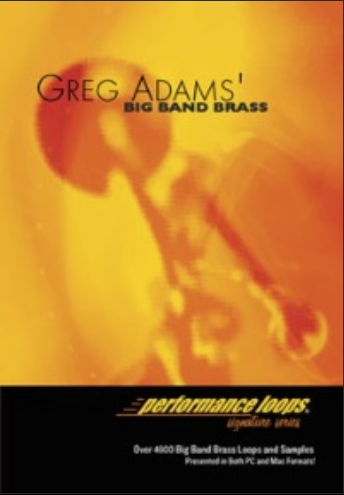 Big Fish Audio Greg Adams Big Band Brass WAV ACID AIFF Apple Loops (1 dvd)