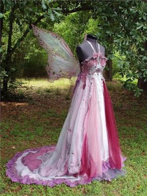 Finished Fairy Costume