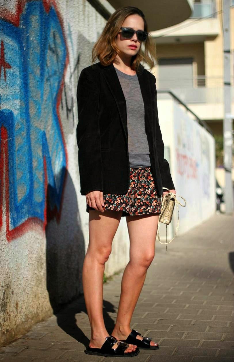 sandals, streetstyle,ss14, exclusive, shorts, zarapeople, אופנה, בלוגאופנה,טלינחשון,סתיו2014ת קסטרו