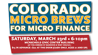 CO Micro Brews for Micro Finance