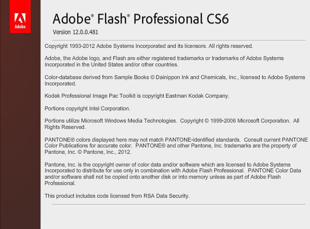 Adobe Flash Professional CS6 v12 Español Descargar 2012