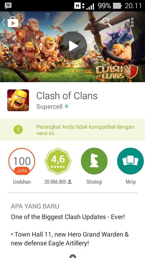 Game Play Store Tidak Kompatibel