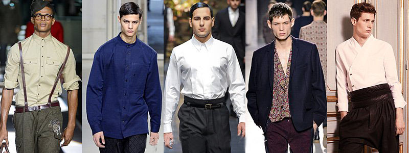 Fall Winter 2013-2014 Men's Shirts Fashion Trends