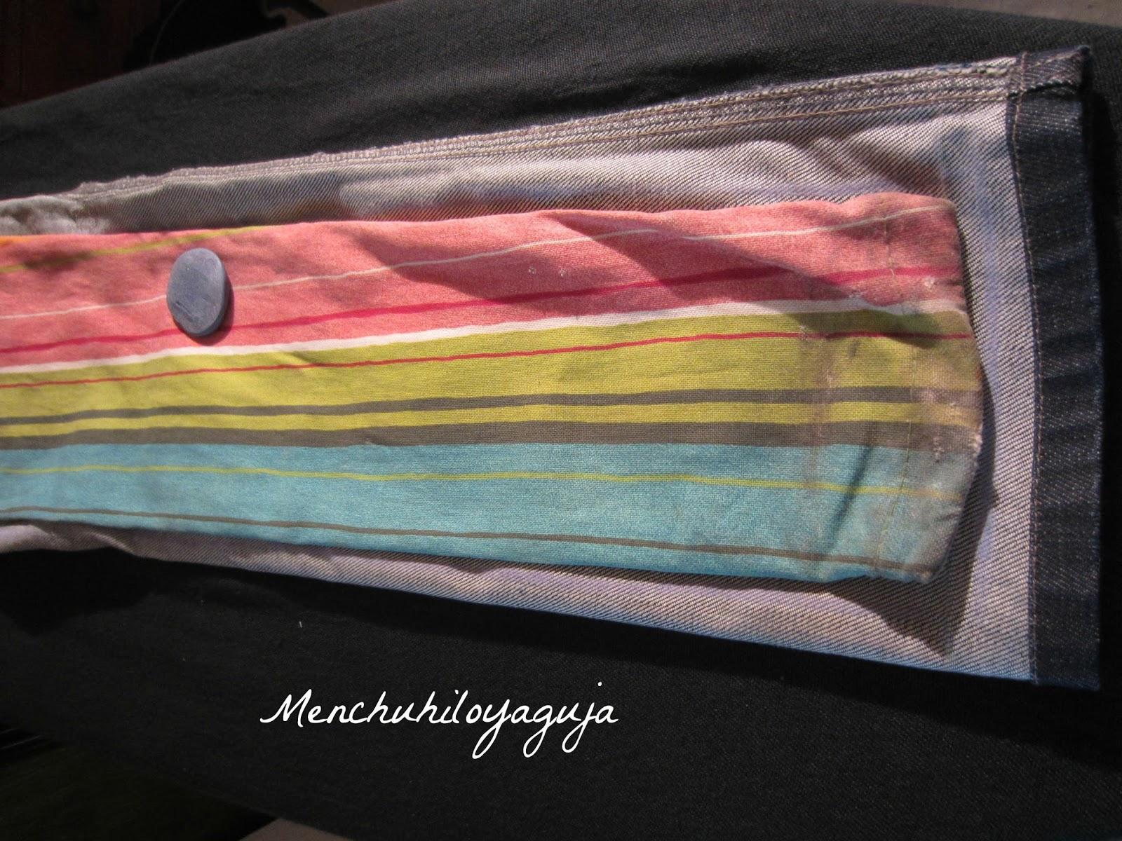 Patrones de costura funda de sombrilla con jeans - Fundas para sombrillas ...