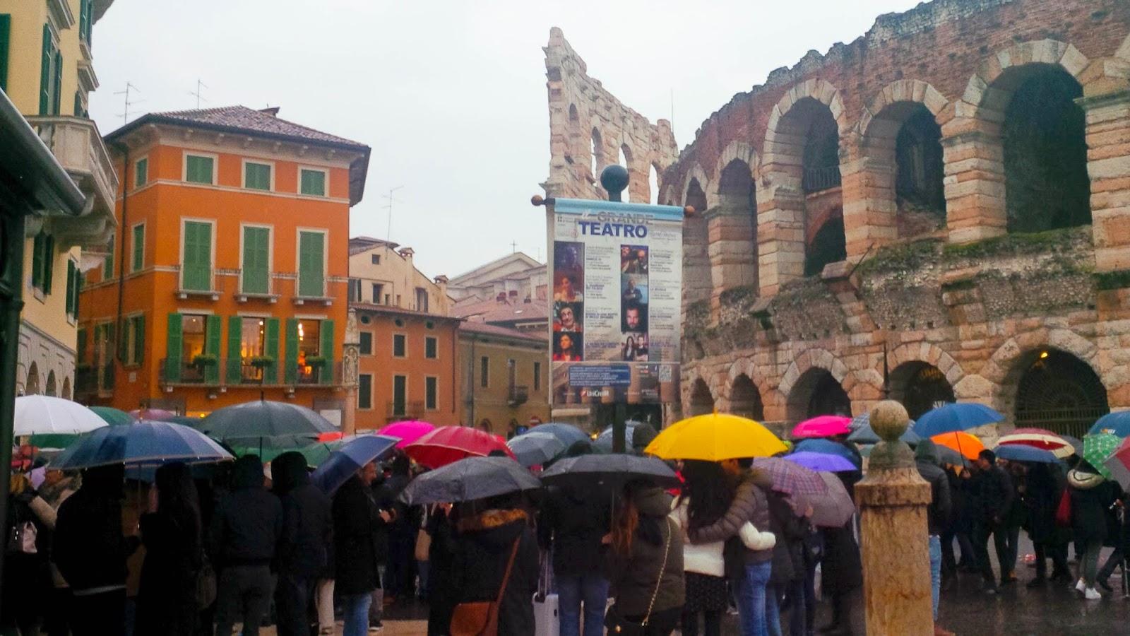 rain Verona St. Valentine's Day 2015