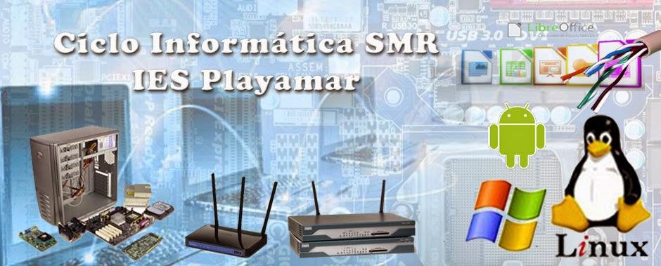 Ciclo fp SMR Informática Torremolinos Playamar