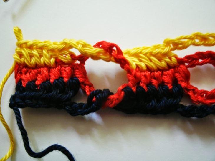 kochloeffel-und-nadelkissen: Fan Armband, WM Armband- kostenlose ...