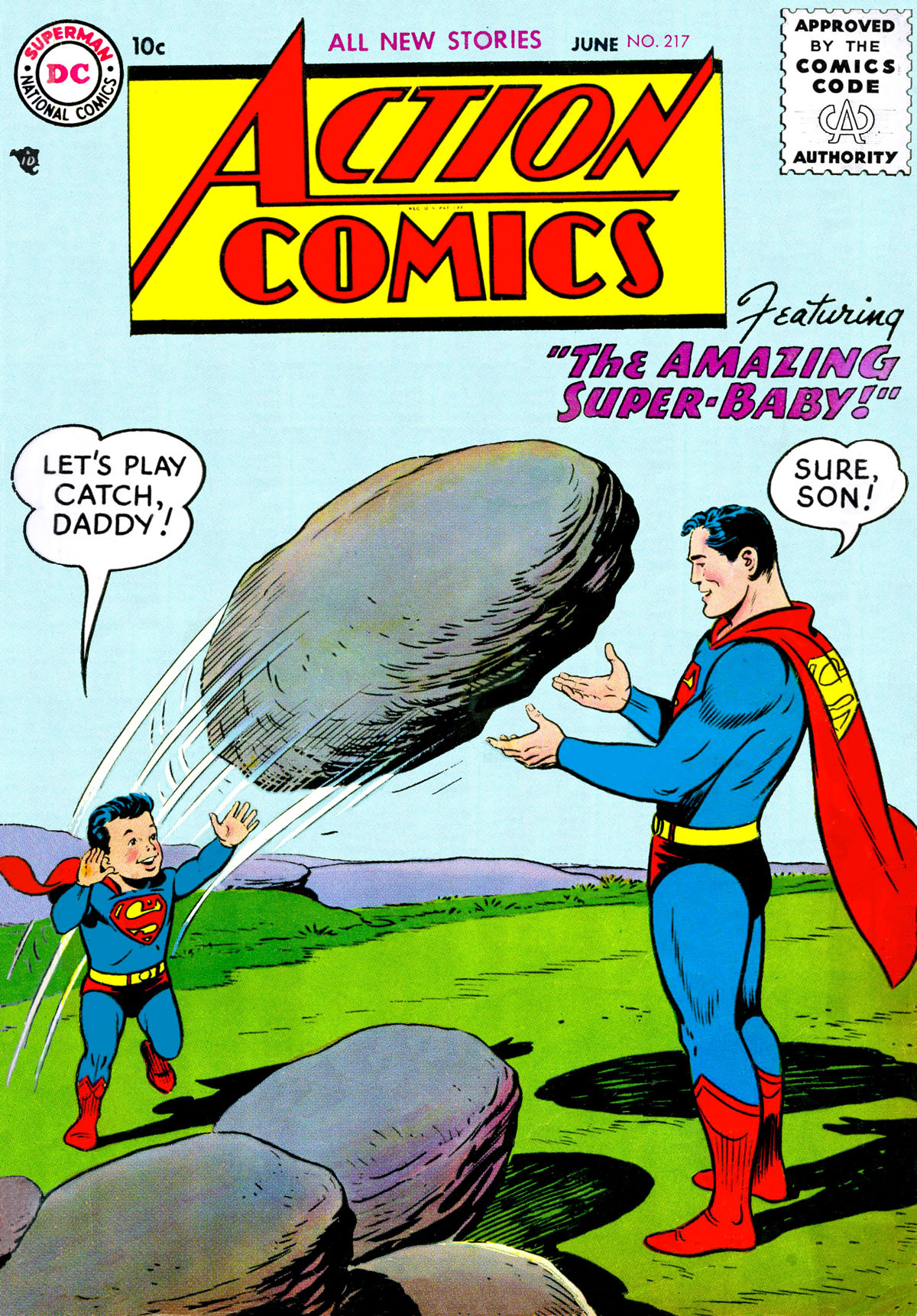 Action Comics (1938) 217 Page 1