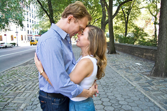 Central Park Zoo Engagement Session